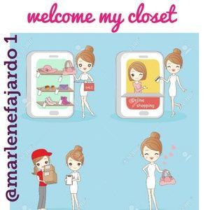 Welcome my closet 💕